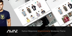 AVAZ V2.4 - FASHION RESPONSIVE WOOCOMMERCE THEME