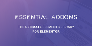 Essential Addons for Elementor v4.0.1