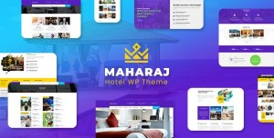 MAHARAJ TOUR V2.1 - HOTEL, TOUR, HOLIDAY THEME