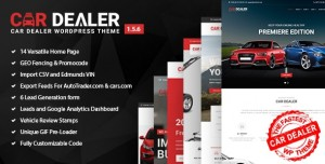 CAR DEALER V1.5.6 - AUTOMOTIVE RESPONSIVE WORDPRESS THEME