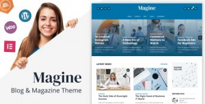 MAGINE V1.1 - BUSINESS BLOG WORDPRESS THEME