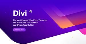DIVI V4.5.2 - ELEGANTTHEMES PREMIUM WORDPRESS THEME