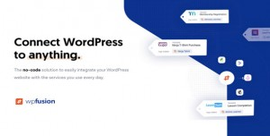 WP Fusion v3.32.7 - Connect WordPress to anything