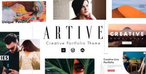 ARTIVE V1.0.0 - CREATIVE PORTFOLIO THEME