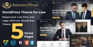 ATTORNEY PRESS V2.1.1 - LAWYER WORDPRESS THEME