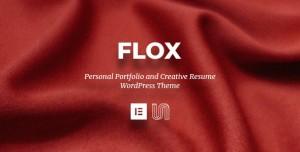 FLOX V1.2 - PERSONAL PORTFOLIO & RESUME WORDPRESS THEME