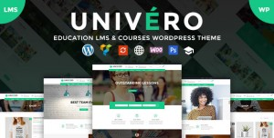 UNIVERO V1.9 - EDUCATION LMS & COURSES WORDPRESS THEME