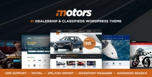 MOTORS V4.7.7 - AUTOMOTIVE, CARS, VEHICLE, BOAT DEALERSHIP