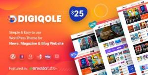 DIGIQOLE V1.4.0 - NEWS MAGAZINE WORDPRESS THEME