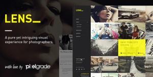 LENS V2.5.5 - AN ENJOYABLE PHOTOGRAPHY WORDPRESS THEME
