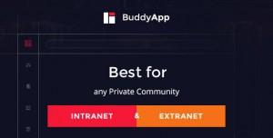 BUDDYAPP V1.8.4 - MOBILE FIRST COMMUNITY WORDPRESS THEME