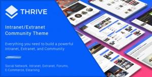 THRIVE V3.1.9 - INTRANET & COMMUNITY WORDPRESS THEME