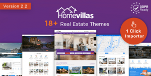 HOME VILLAS V2.2 - REAL ESTATE WORDPRESS THEME