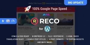 RECO V4.5.0 - MINIMAL THEME FOR FREEBIES