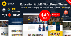 EIKRA EDUCATION V4.0 - EDUCATION WORDPRESS THEME