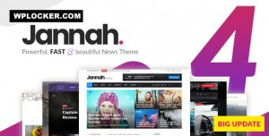 JANNAH NEWS V4.7.1 - NEWSPAPER MAGAZINE NEWS AMP BUDDYPRESS