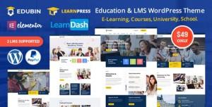 EDUBIN V6.2.0 - EDUCATION LMS WORDPRESS THEME