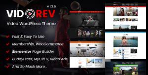 VIDOREV V2.9.9.9.6.6 - VIDEO WORDPRESS THEME