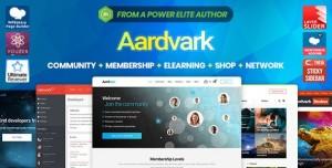AARDVARK V4.23 - COMMUNITY, MEMBERSHIP, BUDDYPRESS THEME