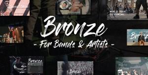 BRONZE V1.0.0 - A PROFESSIONAL MUSIC WORDPRESS THEME