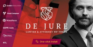 DE JURE V1.0.9 - ATTORNEY AND LAWYER WP THEME