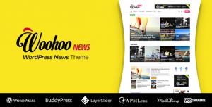 WOOHOO V2.4.5 - WORDPRESS NEWS AND MAGAZINE MULTI-CONCEPT WEBSITE THEME