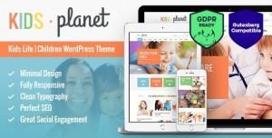 KIDS PLANET V2.2.4 - A MULTIPURPOSE CHILDREN WORDPRESS THEME