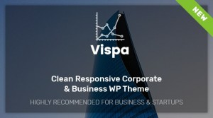VISPA FOR STARTUPS V1.0.3 - RESPONSIVE BUSINESS WORDPRESS THEME