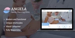 ANGELA V1.1.1 - FAMILY PLANNING CLINIC WORDPRESS THEME