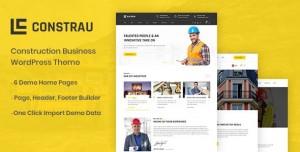 CONSTRAU V1.1.2 - CONSTRUCTION BUSINESS WORDPRESS THEME