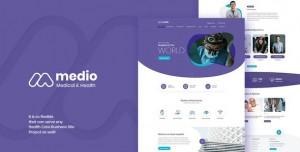 MEDIO V1.4.3 - MEDICAL ORGANIZATION WORDPRESS THEME
