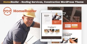 HOMEROOFER V1.0.2 - ROOFING COMPANY SERVICES & CONSTRUCTION WORDPRESS THEME