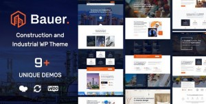 BAUER V1.6 - CONSTRUCTION AND INDUSTRIAL WORDPRESS THEME