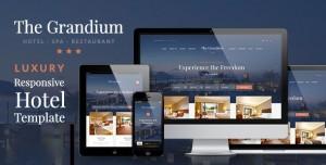 GRANDIUM V1.6.5 - LUXURY HOTEL THEME