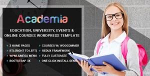 ACADEMIA V3.0 - EDUCATION CENTER WORDPRESS THEME