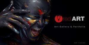 RED ART V1.8.3 - ARTIST PORTFOLIO