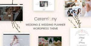 CEREMONY V1.4 - WEDDING PLANNER WORDPRESS THEME