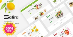 SAFIRA V1.0 - FOOD & ORGANIC WOOCOMMERCE WORDPRESS THEME