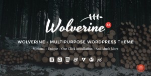 WOLVERINE V2.7 - RESPONSIVE MULTI-PURPOSE THEME