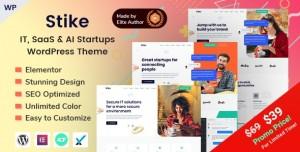 STIKE V2.0.0 - IT STARTUPS WORDPRESS THEME