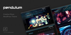 PENDULUM V3.0.5 - BEAT PRODUCERS, DJS & EVENTS THEME FOR WORDPRESS