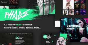 PHASE V1.4.0 - A COMPLETE MUSIC WORDPRESS THEME FOR RECORD LABELS AND ARTISTS