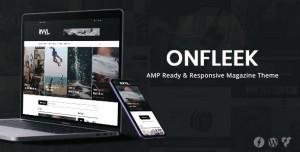 ONFLEEK V2.0 - AMP READY AND RESPONSIVE MAGAZINE THEME