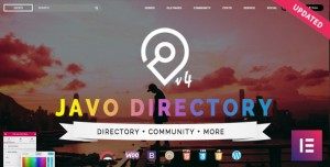 JAVO DIRECTORY V4.1.6 - WORDPRESS THEME