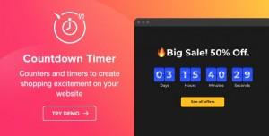 Countdown Timer v1.3.0 - WordPress Countdown Timer plugi