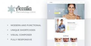 ACCALIA V1.3.1 - DERMATOLOGY CLINIC WORDPRESS THEME