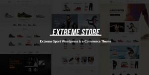 EXTREME V1.5 - SPORTS CLOTHING & EQUIPMENT STORE THEME