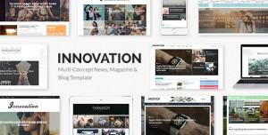 INNOVATION V5.6 - MULTI-CONCEPT NEWS, MAGAZINE & BLOG TEMPLATE