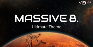 MASSIVE DYNAMIC V8.0 - WORDPRESS WEBSITE BUILDER