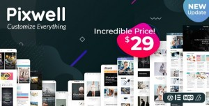 PIXWELL V4.5 - MODERN MAGAZINE